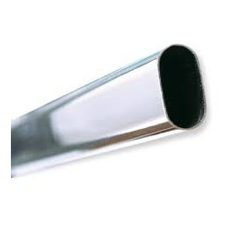 TUBO CROMADO OVALADAO 25X15 (METROS)