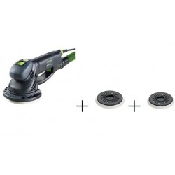 LIJADORA ROTEX FESTOOL RO 150 FEQ-PLUS + 2 PLATOS