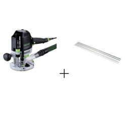 FRESADORA FESTOOL OF 1400EBQ-PLUS + RIEL GUIA 1400